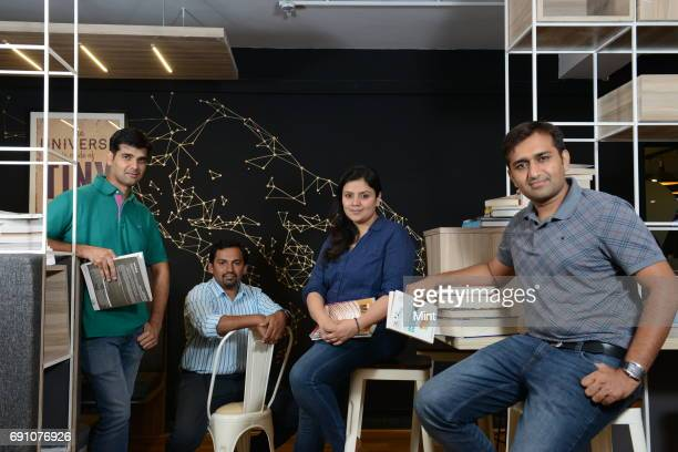 Dhaval Makwana and Achint Thomas Principal Data Scientist Aditi Avasthi CEO and Keyur Faldu Chief Data Scientist at Embibe The company was founded by...