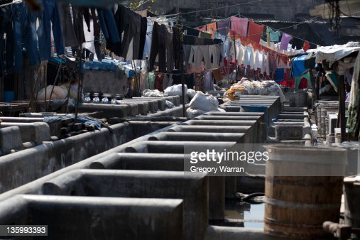 Dhobi Ghat - Mumbai's biggest laundrette 1