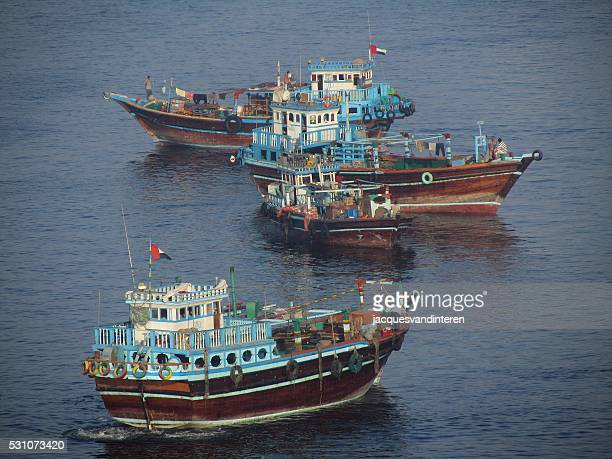 Dhows in the Arabian Gulf