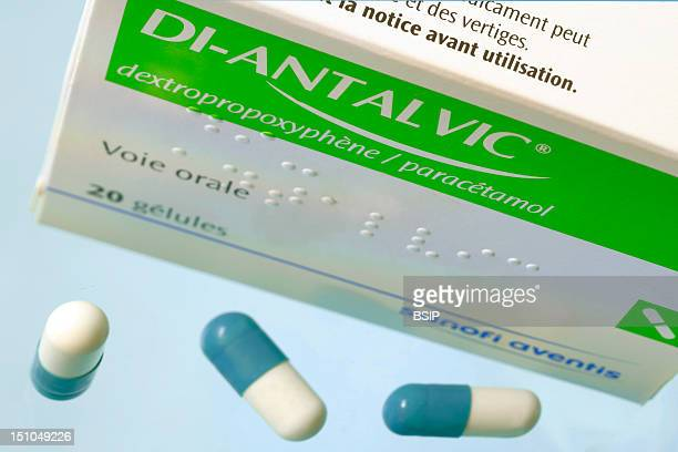 Di Antalvic Active Principles Dextropropoxyphene And Paracetamol Pharmacological Class Opiate Antalgic Indication Pains Mild To Intense Following...