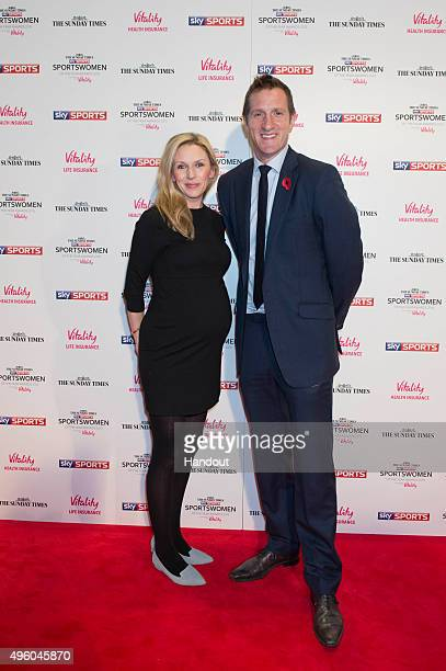 Di Dougherty and Will Greenwood attends the The Sunday Times and Sky Sports Sportswomen of the Year Awards in association with Vitality on November 6...