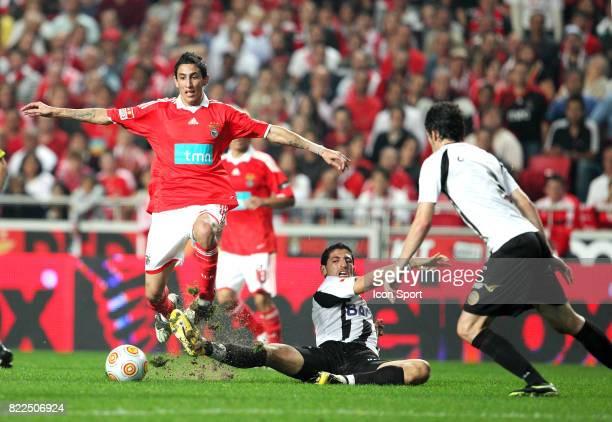 Di Maria Benfica / Nacional Madeira Championnat du Portugal