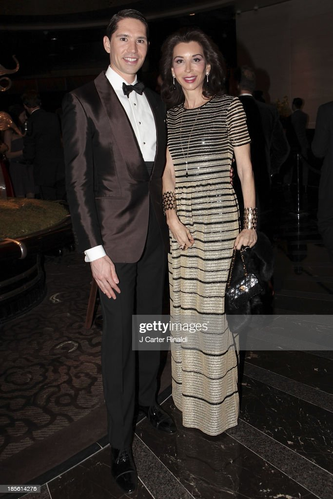 Di Mondo and Fe Fendi attend the Casita Maria's 2013 Fiesta gala at Mandarin Oriental Hotel on October 22, 2013 in New York City.