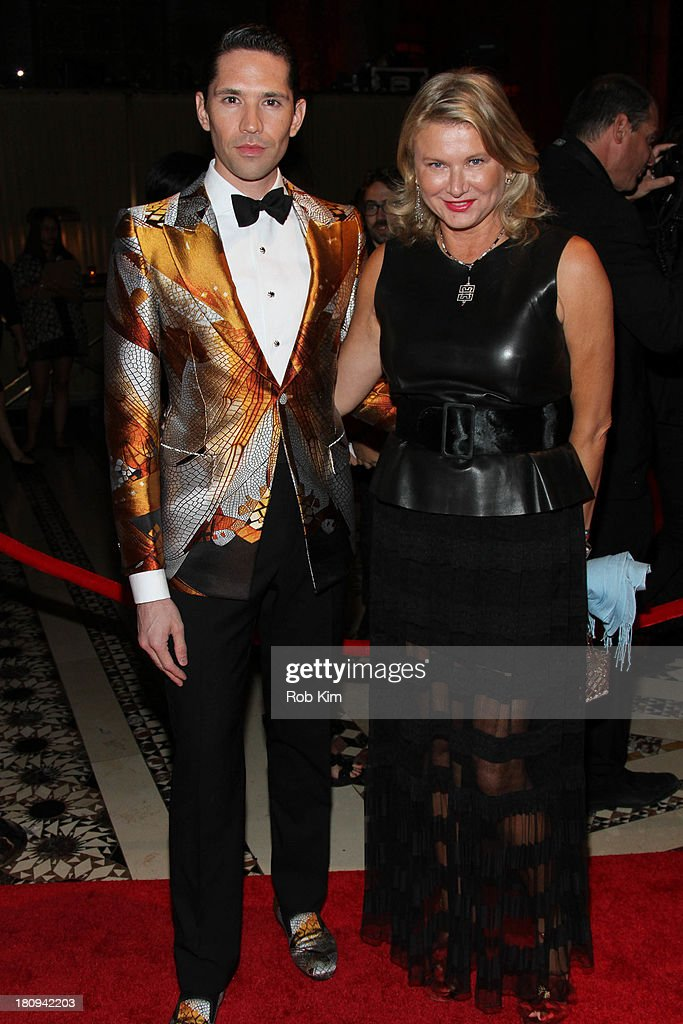 Di Mondo (R) and Lady Liliana Cavendish attend New Yorkers For Children Presents 14th Annual Fall Gala benefiting youth in foster care at Cipriani 42nd Street on September 17, 2013 in New York City.