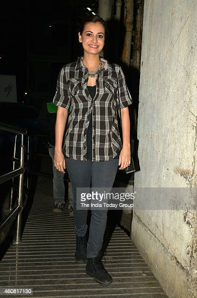 Dia Mirza at premiere of the movie Ugly in Mumbai