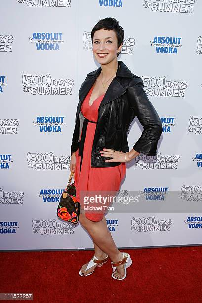 Diablo Cody arrives to the Los Angeles premiere of ' Days of Summer' held at the Egyptian Theatre on June 24 2009 in Hollywood California