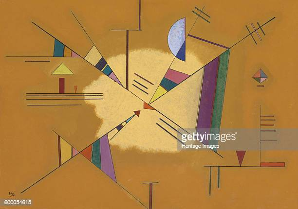 Diagonal 1930 Private Collection Artist Kandinsky Wassily Vasilyevich