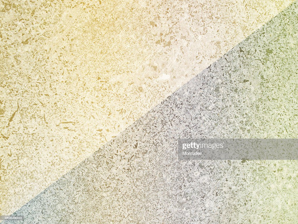 Diagonal Two tone Soft Color abstract of cement floor. : Stock Photo