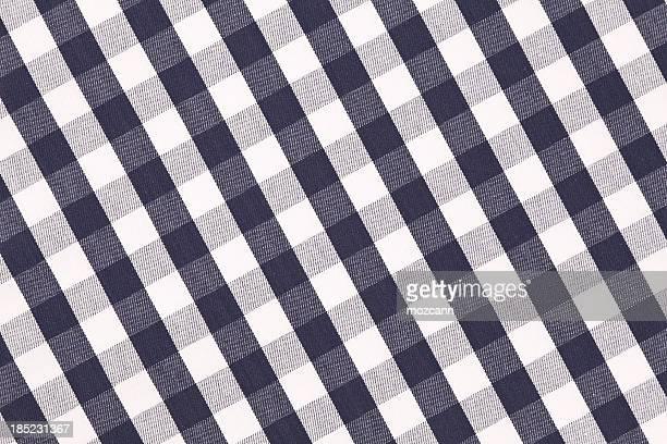 Fondée en diagonale nappe à carreaux