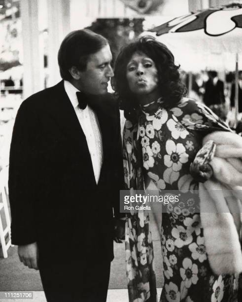 Diahann Carrol and David Frost during Motion Picture and Television Relief Fund 50th Anniversary at Dorothy Chandler Pavilion in Los Angeles...