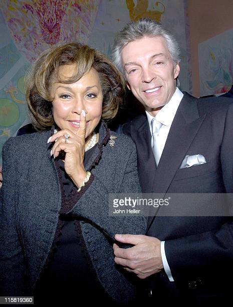 Diahann Carroll and John Griffeth during Book Party to Celebrate Deana Martin's New Book 'Memories Are Made Of This' at Da Vinci Restaurant in...