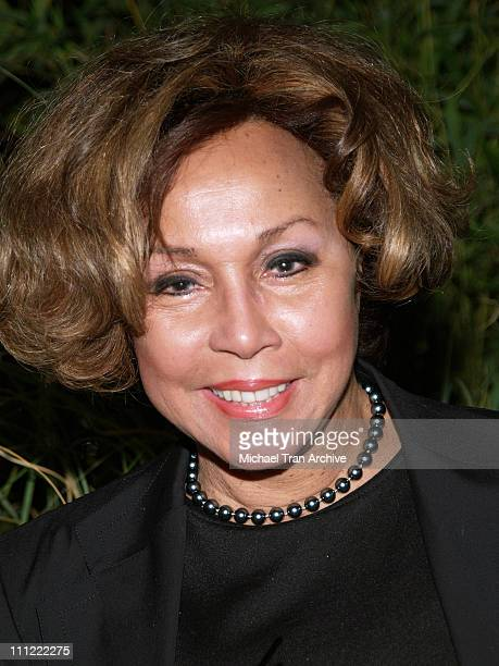 Diahann Carroll during 'Melodies and Memories' an Evening Under the Stars at The Los Angeles Zoo in Los Angeles California United States