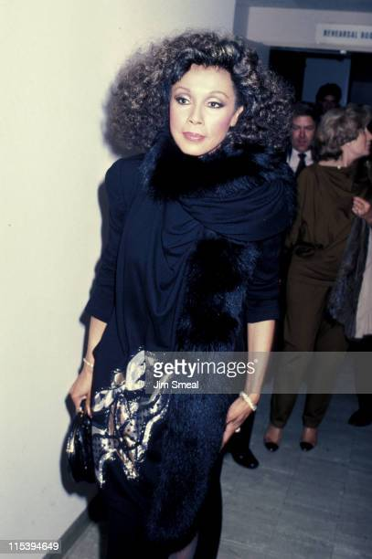 Diahann Carroll during Singer's Salute To Songwriters at Dorothy Chandler Pavillion in Los Angeles California United States