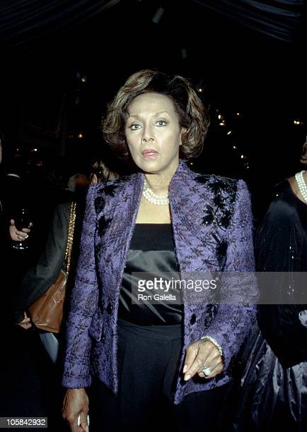 Diahann Carroll during Winter Antiques Show Opening Party at Seventh Regiment Armory in New York City New York United States