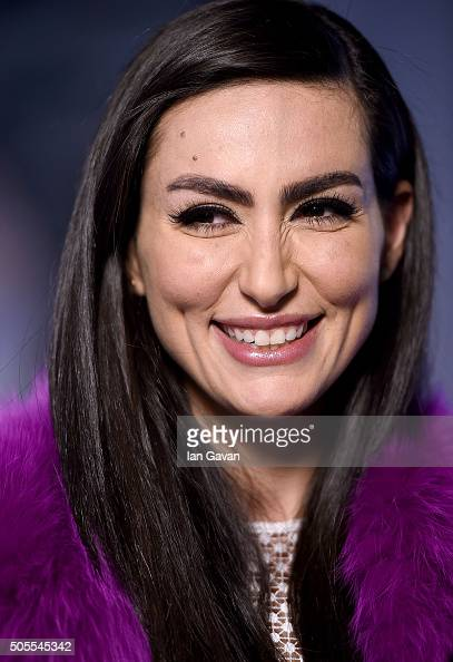 Diala Makki at the Roger Dubuis stand at the SIHH 2016 on January 18 2016 in Geneva Switzerland