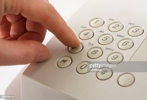 Die Telefonnummer sieben