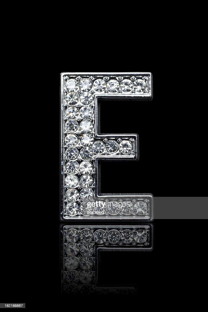 Diamond Alphabet E