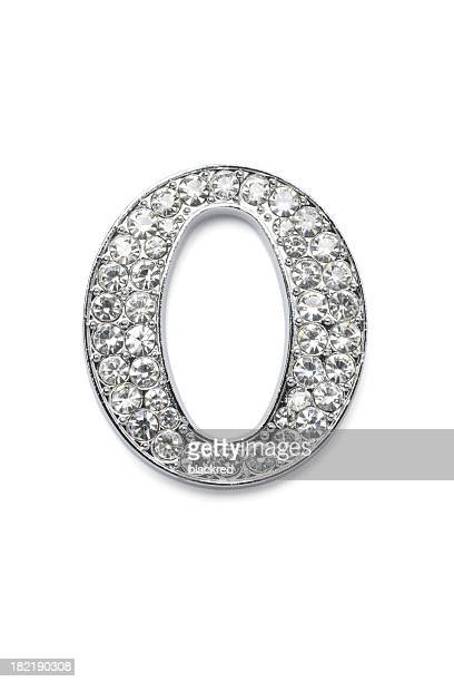 Diamond Alphabet O