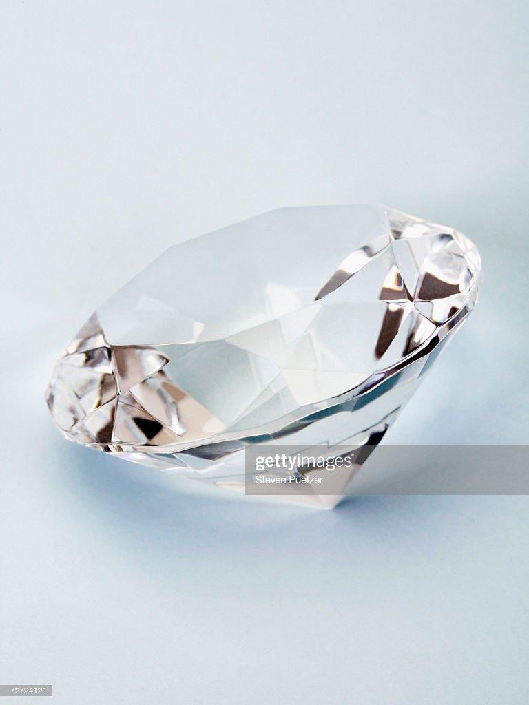 Diamond, close-up : Stock Photo