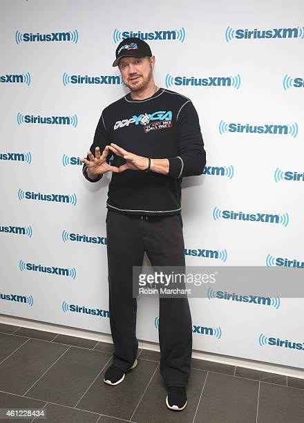 Diamond Dallas Page visits at SiriusXM Studios on January 9 2015 in New York City