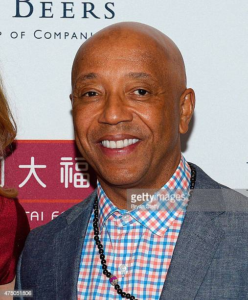 Diamond Empowerment Fund CoFounder and Board Chairman/producer Russell Simmons attends the Diamond Empowerment Fund presents Diamonds in the Sky at...