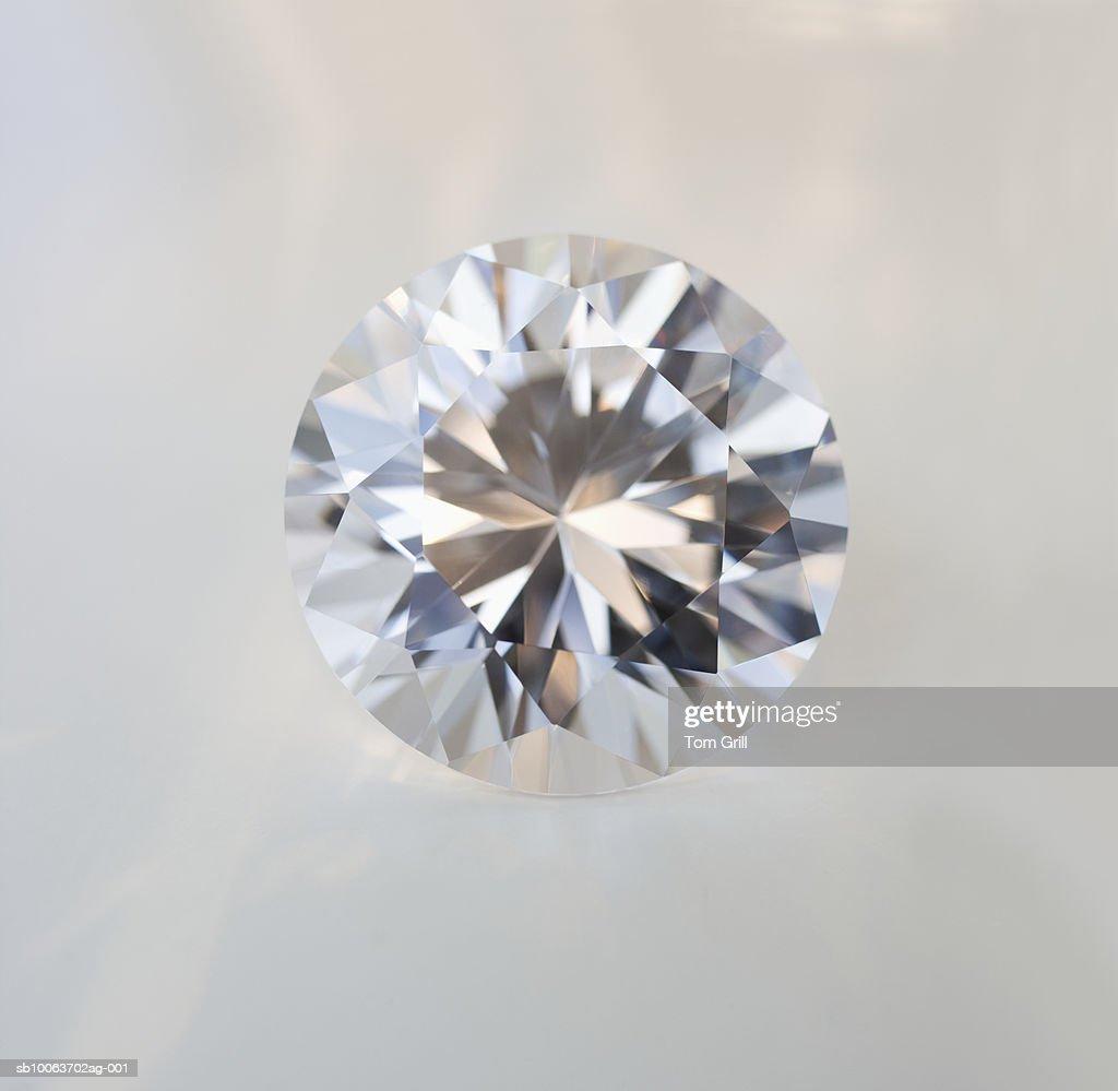 Diamond gem : Stock Photo