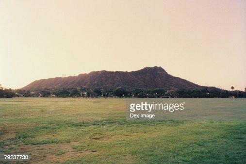 Diamond Head, Oahu, Hawaii, USA : Stock Photo
