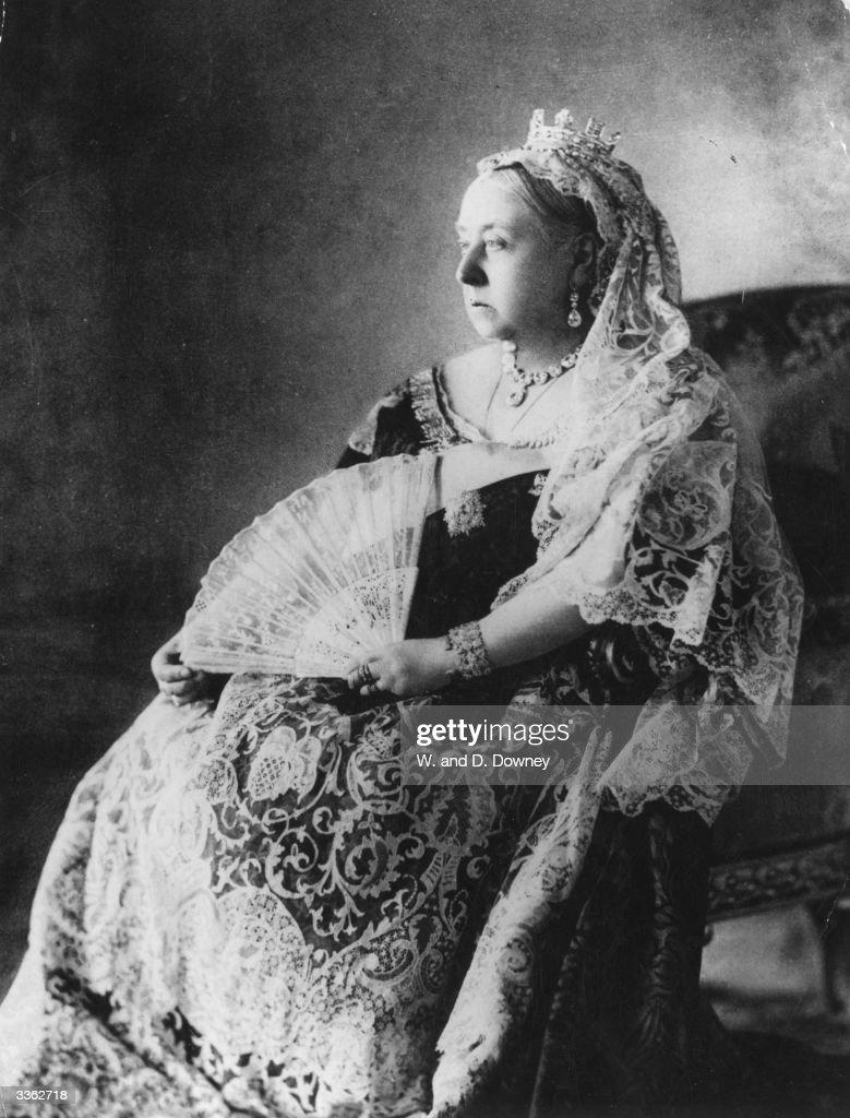 Diamond Jubilee portrait of Queen Victoria (1819 - 1901).