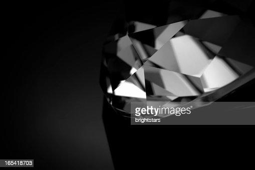 B&W diamond macro