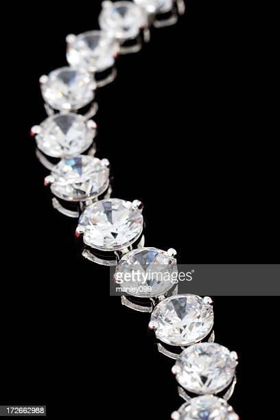 Collana di diamanti (macro girato