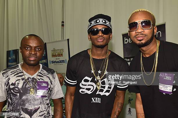 Diamond Platnumz attend day 2 of the Radio Broadcast Center during the BET Awards '14 on June 28 2014 in Los Angeles California