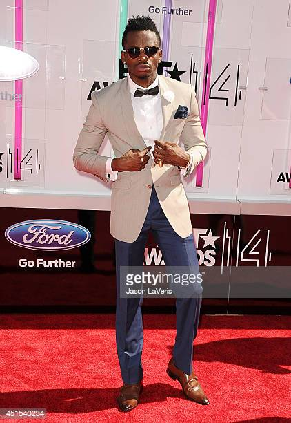 Diamond Platnumz attends the 2014 BET Awards at Nokia Plaza LA LIVE on June 29 2014 in Los Angeles California