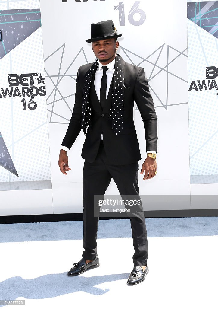 Diamond Platnumz attends the 2016 BET Awards at Microsoft Theater on June 26, 2016 in Los Angeles, California.