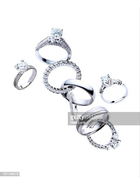 Diamond rings linked