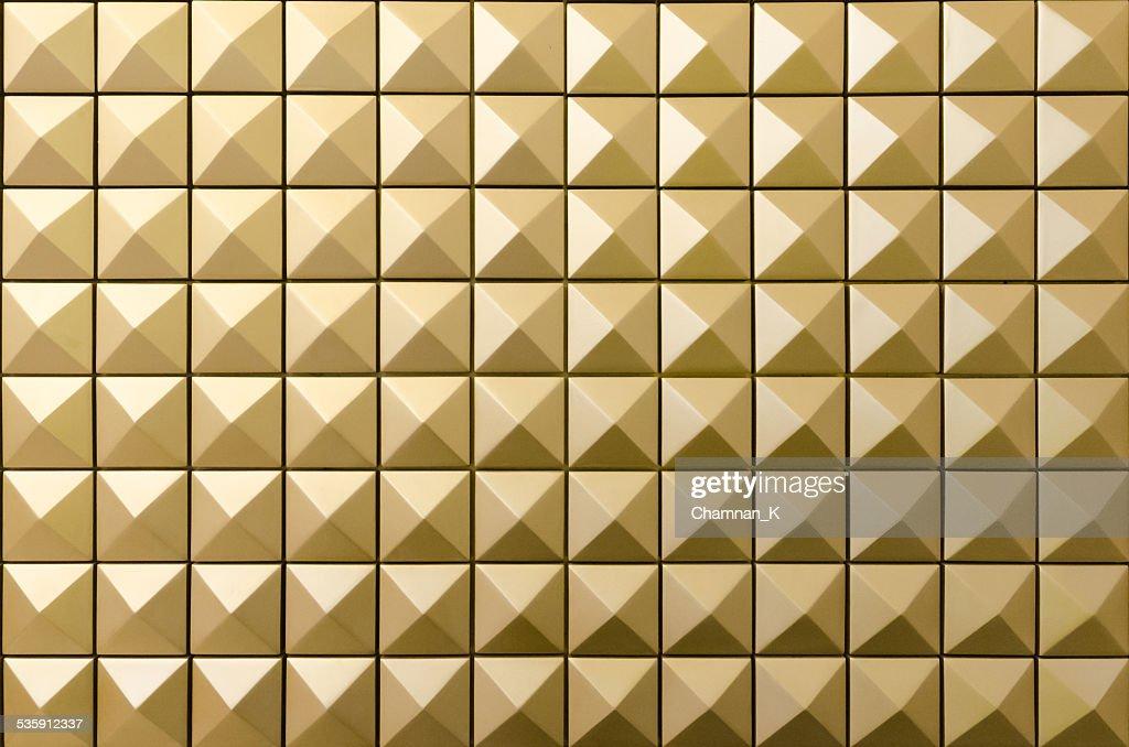 Forma em diamante ouro fundo-padrão de pitões : Foto de stock
