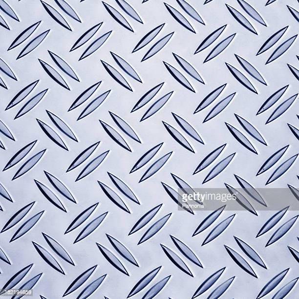 Diamond tread plate background