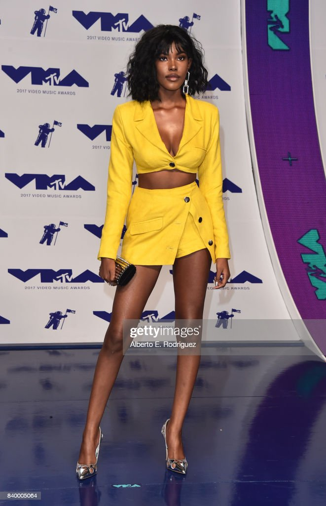 Diamond White attends the 2017 MTV Video Music Awards at The Forum on August 27, 2017 in Inglewood, California.