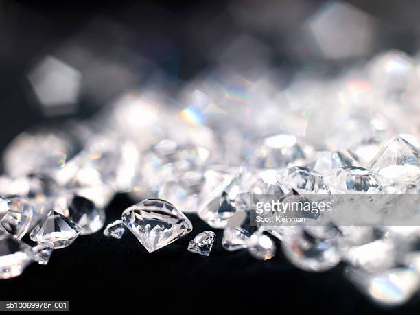 Diamonds, close-up