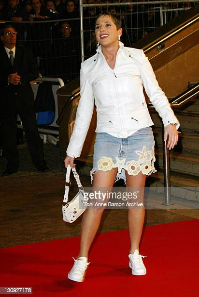 Diam's during 2004 NRJ Music Awards Arrivals at Palais des Festivals in Cannes France