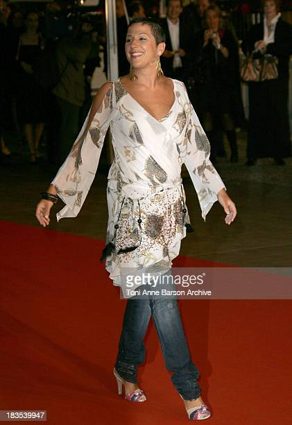 Diam's during NRJ Music Awards 2007 Arrivals at Palais des Festivals in Cannes France
