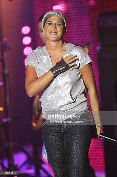 Diam's Performs at the 23rd 'Victoires de la musique' awards ceremony on March 8 2008 in Paris France