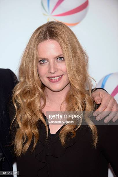 Diana Amft attends 'SAT1 Fiction Event 2013' photocall at Stage Theatre on November 21 2013 in Hamburg Germany