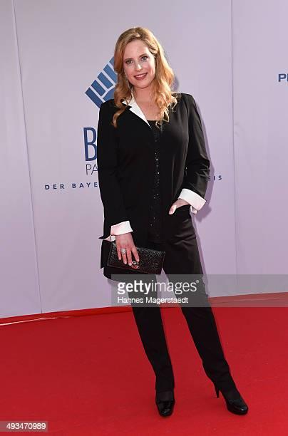 Diana Amft attends the 'Bayerischer Fernsehpreis 2014' at Prinzregententheater on May 23 2014 in Munich Germany