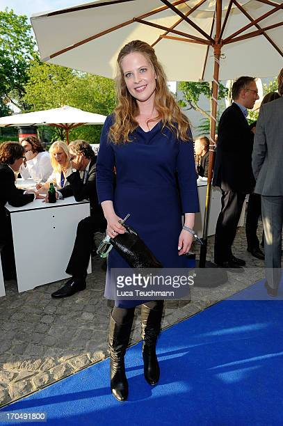 Diana Amft attends the producer party 2013 of the German producers alliance at Restaurant Auster on June 13 2013 in Berlin Germany