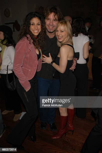 Diana Bologna Kennedy Kristin Balon at Top Model Music Video screening on February 242004 in New York City