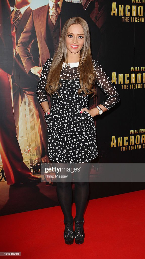 Diana Bunici attends the Irish premiere of 'Anchorman 2: The Legend Continues' on December 9, 2013 in Dublin, Ireland.