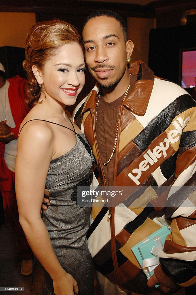 Diana DeGarmo and Ludacris during Georgia GRAMMY Nominees Honored by the Recording Academy and Tiffany Co at Tiffany Co in Atlanta Georgia United...