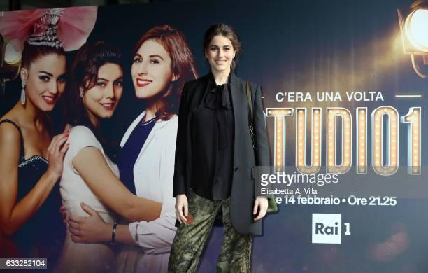 Diana Del Bufalo attends a photocall for 'C'Era Una Volta Studio 1' at Rai Viale Mazzini on February 1 2017 in Rome Italy