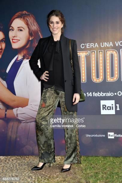 Diana Del Bufalo attends a photocall for 'C'Era Una Volta Studio 1' on February 1 2017 in Rome Italy