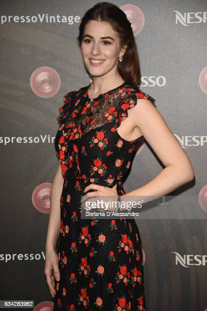 Diana Del Bufalo attends a photocall for Nespresso on February 8 2017 in Milan Italy